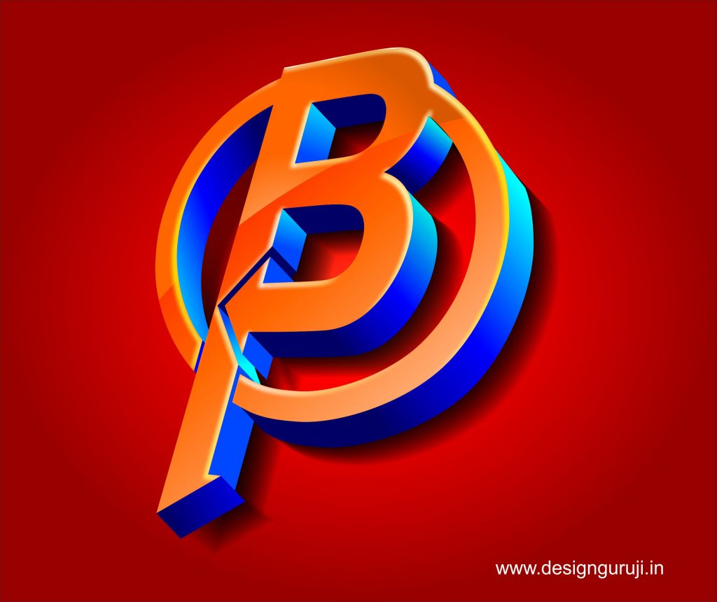 Logo Design Using Corel Draw 3d Logo Design Design Guruji